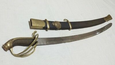 Awarded naval sword of 1855-Russia-for courage! -100% original