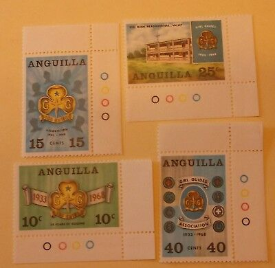 Anguilla Stamp 40-3  MNH Scouting Topical
