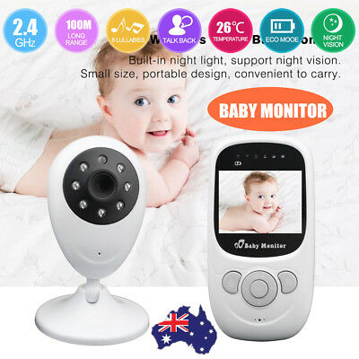 SP880 2.4'' LCD Baby Pet Monitor Wireless Digital Audio Video Camera Security GT