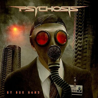 """Psychosis """"By Our Hand"""" CD EP 2013 Brand New! Heathen Agent Steel Prototype"""