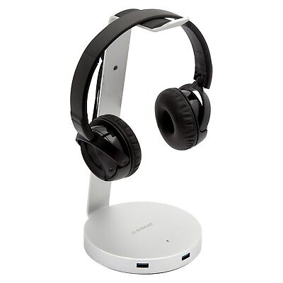 NEW mbeat ZACK Aluminium Headphone Stand with 3.0 Hub