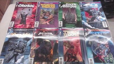 DC Futures End The New 52! Hologram Covers...lot of 20 DC Comics