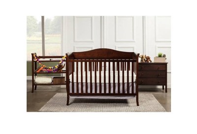 **NEW** 4-Piece Nursery Crib Set w/Dresser, Bonus Changing Tablew/Pad EspreBella