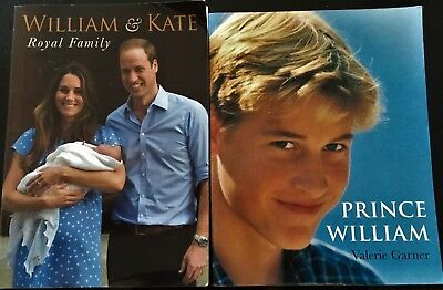 Prince William = Valerie Garner   William And Kate Marie Clayton 2 Books