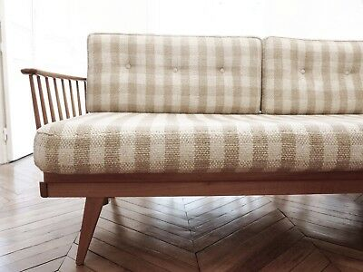 Authentic Knoll Antimott 1950s Sofa Daybed