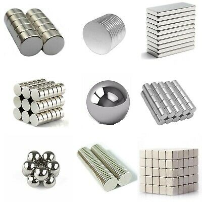 Super Strong Block Magnet Muti size  Square Neodymium Rare Earth Magnets N48 N52