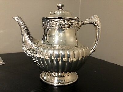 Vintage Reed And Barton Silver Teapot