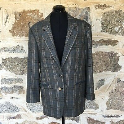 COUNTRY ROAD Women's Rare True Vintage Wool Blazer Jacket - Size 14