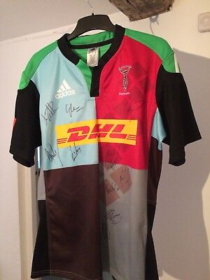 Halrequins Rugby Union Signed Shirt
