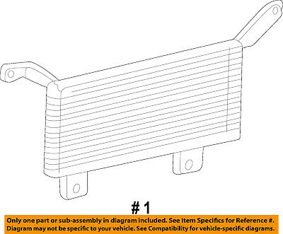 Four Seasons Transmission Oil Cooler for 1999-2008 Ford F-350 Super Duty rp