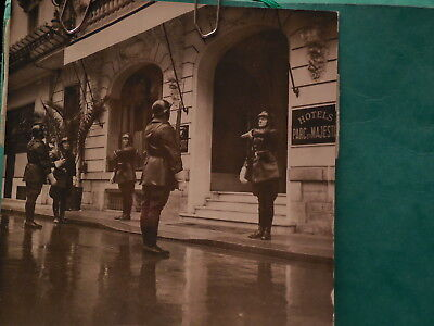 POLICE  ww2 GMR PETAIN VICHY RARE PHOTO  argentique  1941 1944 N°3