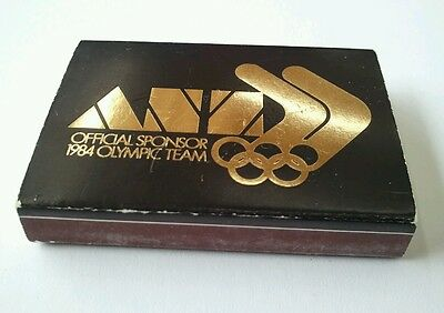 Collectable Match Box - ANZ Bank - Official Sponsor 1984 Olympic Team