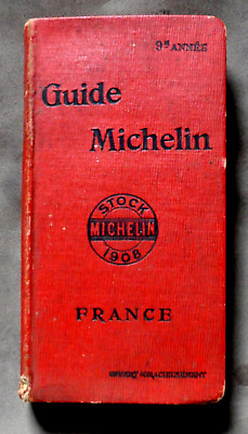 Guide Rouge Michelin 1908 + 2 Documents - Bon Etat General
