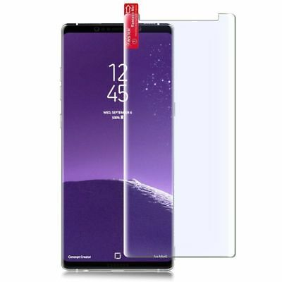 2 x PET Folie für Samsung Galaxy Note 8 Schutzfolie Curved Display Panzerfolie