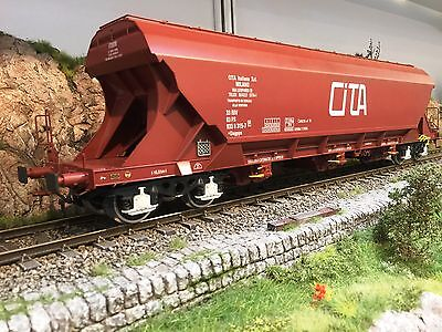 Kiss 1 Gauge Silo Wagon Cita Freight Car Special Model Unique