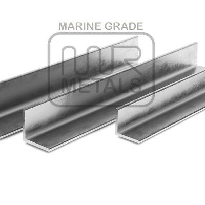 1 x Metre EQUAL ANGLE STAINLESS STEEL ANGLE MARINE GRADE 316 BEST GRADE NO RUST