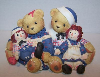 Cherished Teddies retired NIB. Rosemarie Ronald Raggedy Ann & Andy 706981 2000