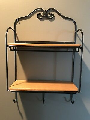 Longaberger Wrought Iron Wall Shelves