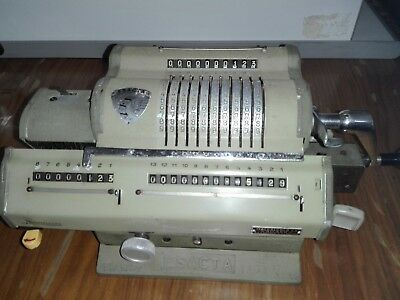 Esacta Calcolatrice  A Cursori Made In Italy Nel1949 Old Calculator No Olivetti