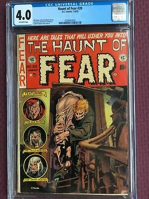 Haunt Of Fear 20, Cgc 4.0, Off White Pages!