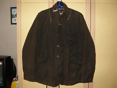 BARBOUR x TO KI TO Yoshida Limited Edition Driving Jacket Waxed Cotton Size XL