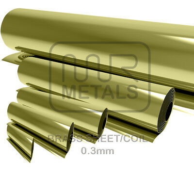 BRASS Sheet BRASS Strip 0.3mm/0.5mm/0.7mm/0.9mm/1.2mm BRASS MODELLING CRAFT DIY