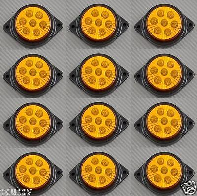 12 x 7 LED 12V INDICATORE LATERALE AMBRA LUCI AUTO SUV Camper 4X4 PICK-UP