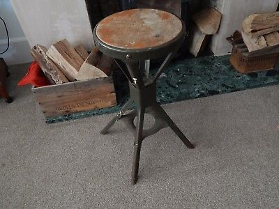 Evertaut Machinist Stool Bench Chair Vintage 1950s 1960s Great Condition