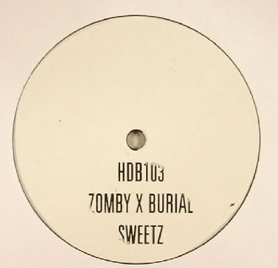 "ZOMBY/BURIAL - Sweetz - Vinyl (limited 1-sided 10"")"