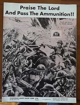 Praise The Lord and Pass The Ammunition - Frank Loesser- 1942 Pearl Harbor