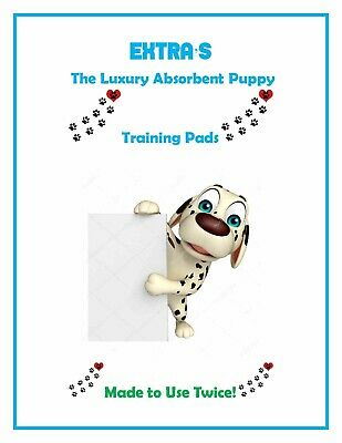 """200 Extra Absorbent De-Luxury 2x Puppy Training Pee Piddle Pads 23x24"""""""