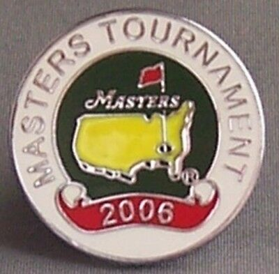 The 2006 Masters Tournament Coin Type Golf Ball Marker