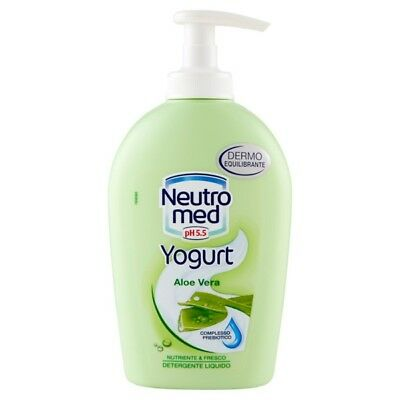 Neutromed Sapone Liquido 300Ml.base Con Dispenser Yougurt Aloe Vera Nutriente