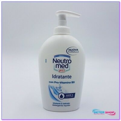 Neutromed Sapone Liquido 300Ml.base Con Dispenser Idratante Con Pro-Vitamina B5