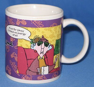 If Not for Stress & Drink Flavored Tea, Maxine coffee cup mug