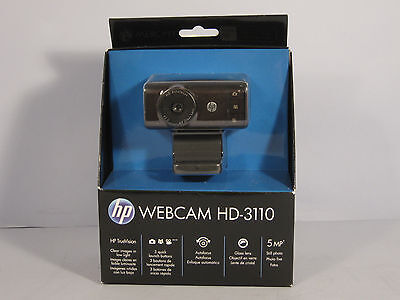 HP WEBCAM HD-3110 - USB 2.0, auto focus + software