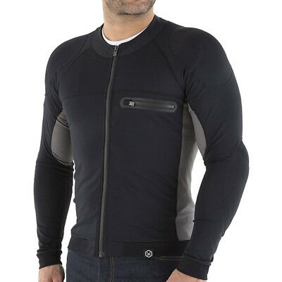 Knox Action Mens Armoured Motorcycle Motorbike Stretch Shirt