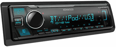 2020 MODEL Kenwood KMM-BT328 Bluetooth, Digital Media Car Stereo(NO CD)+REMOTE