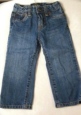 """Lucky Brand """"Billy Straight"""" Jeans Size 24 Months adjustable waist"""
