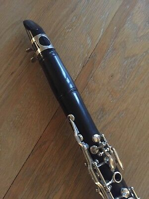 Bb clarinet, Buffet Crampon, with backpack case, clarinet stand and neck strap