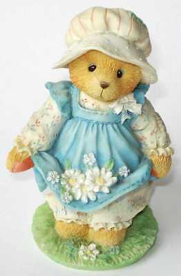 Cherished Teddies retired NIB. Gail Catching Blooms Friendship. Daisies 103772