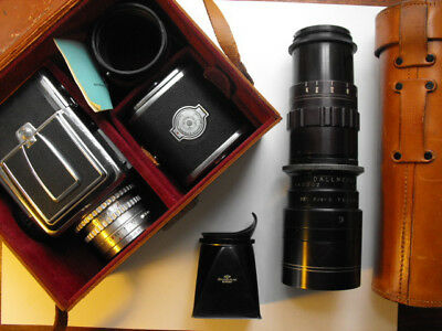 Classic Hasselblad 1600F camera & Dallmeyer lens & accessories outfit 1952