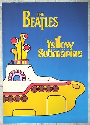 The Beatles-Yellow Submarine Songtrack Poster. (uk quad size)