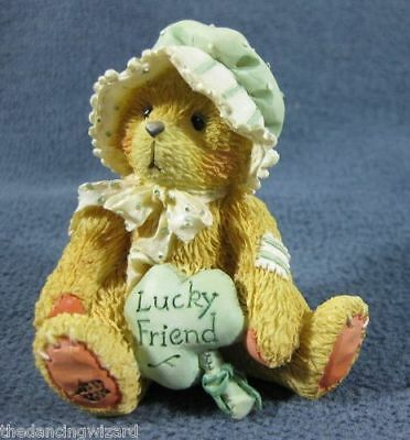 Cherished Teddies retired NIB. Maureen Lucky Friend Irish St. Patricks 135690