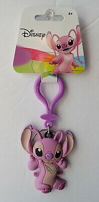 Disney - Lilo and Stitch - Angel Soft Touch PVC Keyring/Keychain 85658