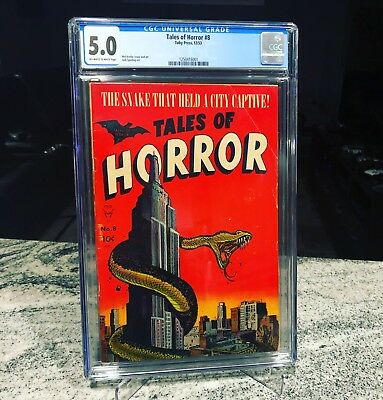 Tales Of Horror 8 CGC 5.0 Second Highest Graded!! Extremely Rare!