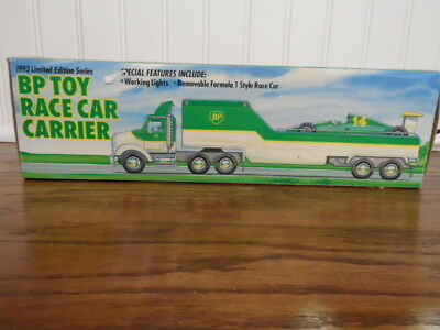 1993 Limited Edition BP Toy Race Car Carrier NRFB