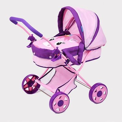NEW Doll Deluxe Pram Unicorn Design