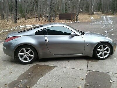 2003 Nissan 350Z leather premium 2003 Nissan 350z touring coupe manual Silverstone
