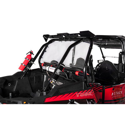 Tusk UTV Polycarb Rear Window Clear Polaris RZR XP TURBO XP4 1000 2014-2018